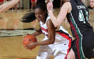 Brandi Brown Voted Academic All-District