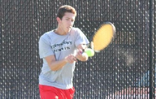 Rosa Earns Singles, Doubles Win As Penguins Fall to WMU
