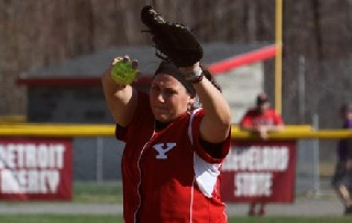 Casey Crozier Named Horizon League Softball Pitcher of the Week