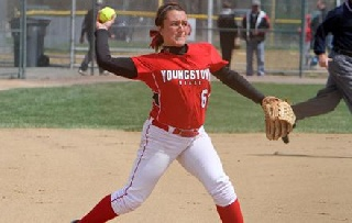 Softball Falls Twice at Valparaiso