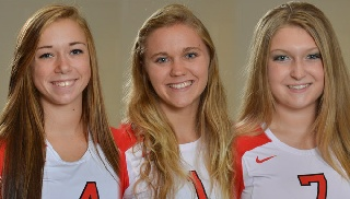 A Look at the Three Volleyball Newcomers