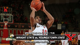 Basketball Visits Wright State Wednesday on ESPN3