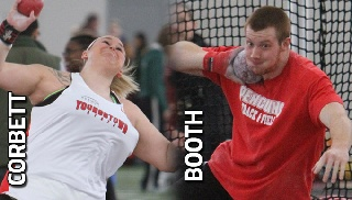 Ryan Booth and Jayne Corbett Named Athletes of the Week