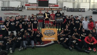 Track and Field Team Wins Horizon League Championship