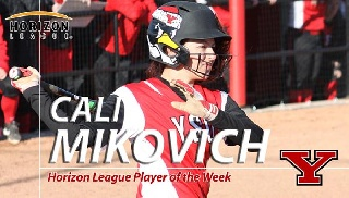 Mikovich Garners Second Horizon League Softball Player-of-the-Week Honors