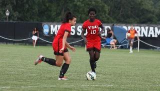 Lum's Late Goal, Montgomery's Shutout Leads Women's Soccer to 1-0 Win Over Robert Morris