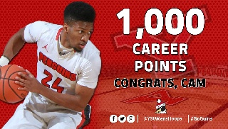 Cameron Morse Scores 1,000th Career Point in Loss at Northern Kentucky