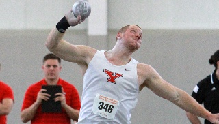 Penguins Sweep Hurdles, Shot Put At YSU College Invitational