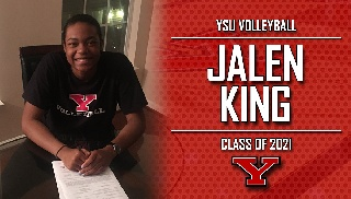 Jalen King Signs to Continue Volleyball Career at YSU