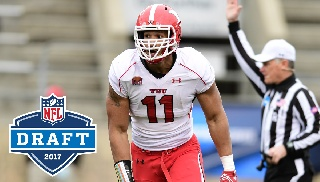 Former Penguin Derek Rivers Selected As First Pick By New England Patriots