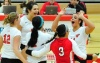 Volleyball Holds On for Five-Set Win at Loyola