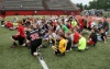 Enthusiastic Kids Make Youth Football Camp a Special Event