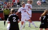Dowd's Last Minute Header Lifts Soccer to 2-1 Win Over Niagara
