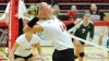 Hundelt Collects 1,000th Kill in Volleyball's Loss to Toledo