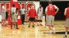 Basketball Holds Energetic First Practice