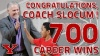 Jerry Slocum Wins 700th Career Game